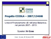 CCOSLA EuropeAid Training Module