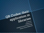 QR codes and their application in l...