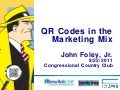 QR Codes in the Marketing Mix
