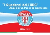 I Quaderni dell'Udc - Analisi di un...