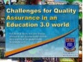Quality Assurance in an Education 3.0 world