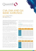 Quantifi whitepaper   CVA, DVA and Q4 Bank Earnings