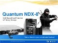 Quantum NDX - NAS Based Data Protection