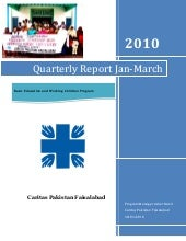 Quarterly Report Jan-March2010