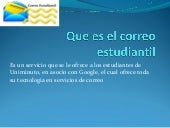 correo estudiantil y aula virtual