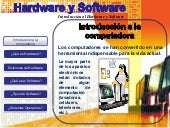 Que es hardware y software entregable