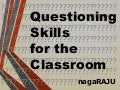 Questioning Skills for the Classroom