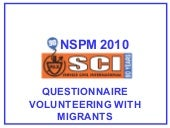 NSPM 2010-Volunteering with Migrant...
