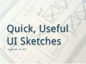 How to Draw Quick, Useful UI Sketches