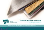 Quick Reference Guide to the PCI Da...