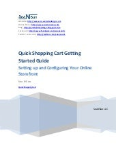Quick Shopping Cart Getting Started...