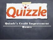 Quizzle's credit improvement basics