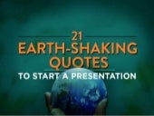21 Opening Quotes to Kick Off a Presentation