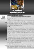 Quotidienne des marches_financiers_12_mars_2012