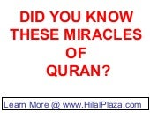 Quran Miracles - An introduction to...