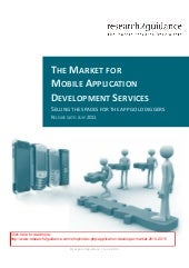 The Market for Mobile Application D...