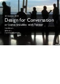 Design for Conversation