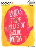 2010's Nine Reules of Social Media  (Radian6 dec2010 book)