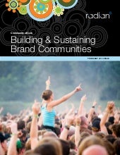Building and Sustaining Brand Commu...