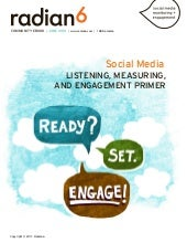 Social Media Listening, Measurement...
