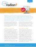 Radian6 Software Industry Use Case for Social Media