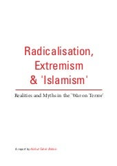 radicalisation, extremism and 'isla...