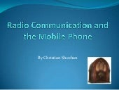 Radio communication and the mobile ...