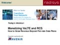 Radisys & Mavenir: Monetizing VoLTE and RCS