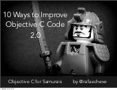 Objective C for Samurais