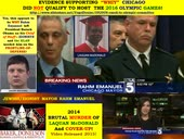 RAHM EMANUEL - ZIONISTS COVER-UP IN LAQUAN McDONALD CHICAGO MURDER
