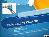 Rails Engine Patterns