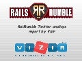Rails rumble twitter buz analisys by Vizir