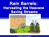 Rain Barrels:  Harvesting the Heave...