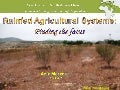 Rainfed Agricultural Systems, Dr. Aziz Merzouk, IFAD