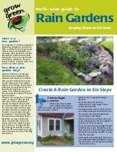 Austin Texas Rain Garden Fact Sheet