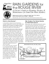 Rain Gardens for the Rouge River