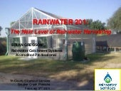 Rainwater 201: The Next Level of Ra...