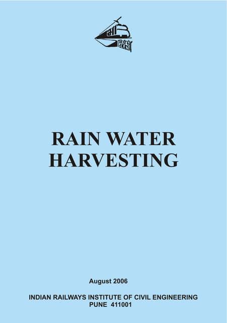 Rainwater harvesting phd thesis