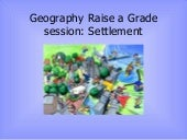 Raise A Grade Session   Settlement