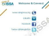 2013-03 Raleigh ISSA Chapter Update...