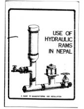 Use of Hydraulic Rams in Nepal
