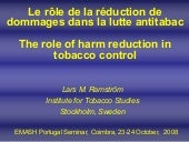 The role of harm reduction in tobac...
