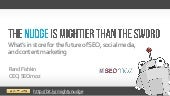 The Mighty Nudge: The Future of SEO, Social Media, & Content Marketing