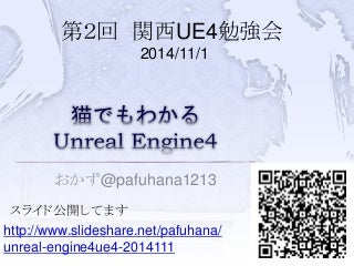 猫でもわかるUnreal Engine4