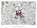 Random Words From U2 Live Concert Mind Map