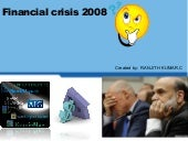 imapct of financial crisis and role...