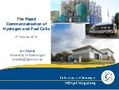 Rapid commercialisation of hydrogen...