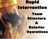 Rapid intervention teams 1 08
