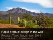 Rapid Product Design in the Wild - ProductTank