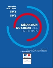 Rapport annuel mediation credit ent...